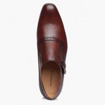 Duchini Monk Strap Shoes