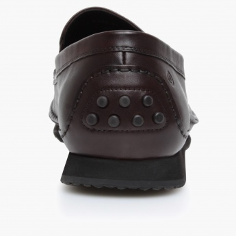 Le Confort Solid Colour Moccasins