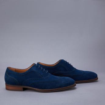 Duchini Lace-Up Brogue Shoes