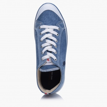 U.S. Polo Lace-Up Shoes with Stitched Detail