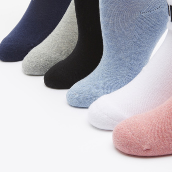 Kappa Assorted Ankle Length Socks - Set of 6