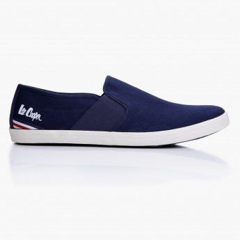 53594583 Lee Cooper Slip On Canvas Shoes | Blue | Sneakers