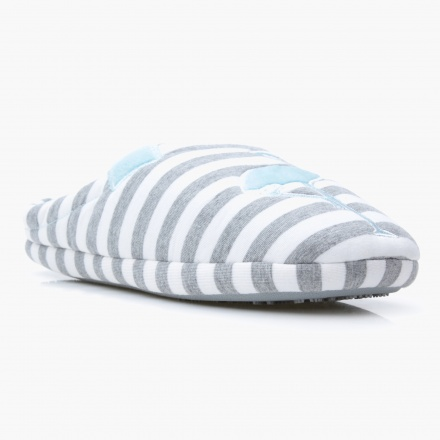Missy Striped Bedroom Slippers