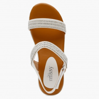 Little Missy Embellished Sandals