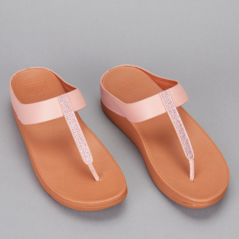 FIT FLOP Embellished Slides