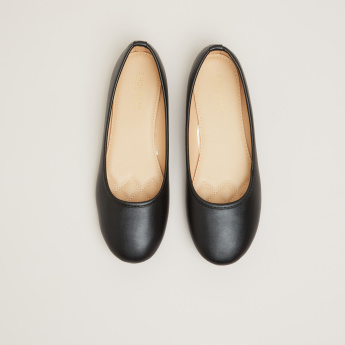 Slip-On Ballerinas with Textured Insole