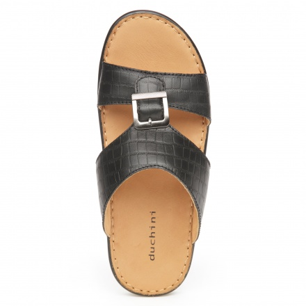 Duchini Textured Arabic Slippers