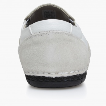 Duchini Textured Slip-On Shoes