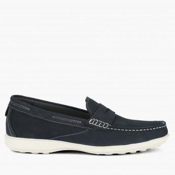 Duchini Moccasins with Stitch Detail