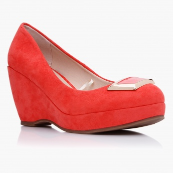 Paprika Solid Colour Wedges