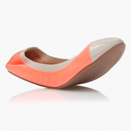 Paprika Butterfly Twist Ballerina Shoes