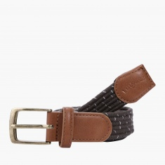 Lee Cooper Textured Buckle Belt