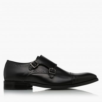 Elle Slip-On Shoes with Buckle Closure