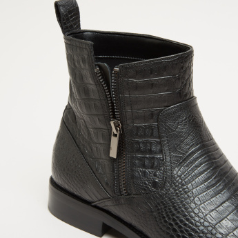 ELLE Textured High Top Shoes