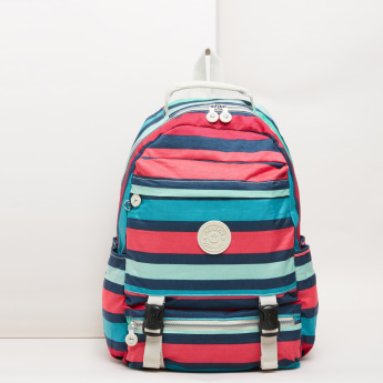 Mindesa Striped Backpack
