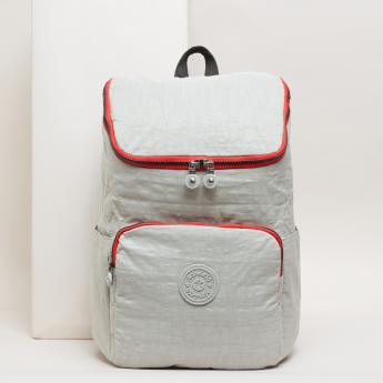 Mindesa Textured Backpack with Zip Closure