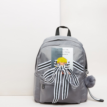 Bow Detail Backpack