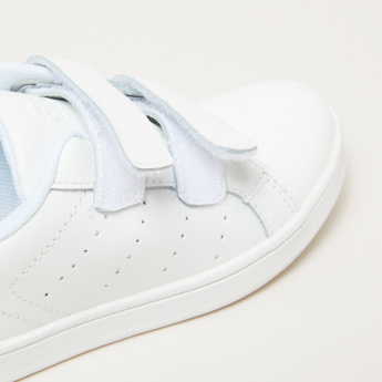 Kappa Perforated Shoes with Hook and Loop Closure