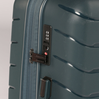 Duchini Textured 360 Spinner Trolley Bag with Combination Lock