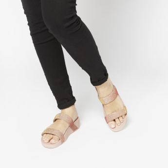 FitFlop Slides with Textured Straps