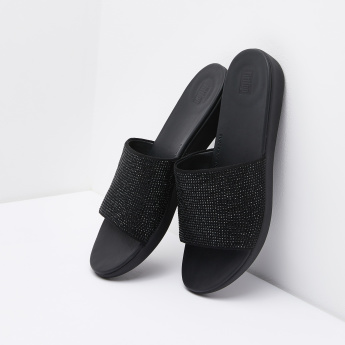 FitFlop Textured Slide Slippers