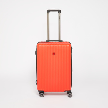 SWISSBRAND 360 Spinner Trolley Bag with Zip Closure