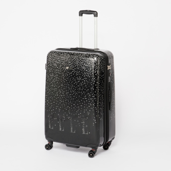ELLE Printed Hard Case Trolley Bag