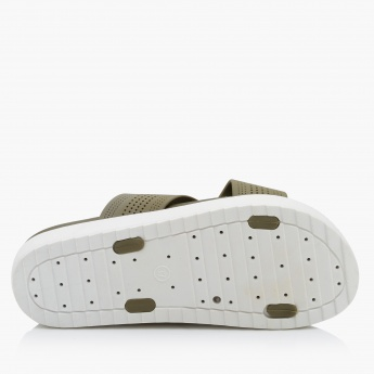 Dash Cross Strap Slip-On Slippers