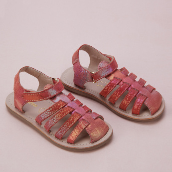 Barefeet Fisherman Sandals with Hook and Loop Closure