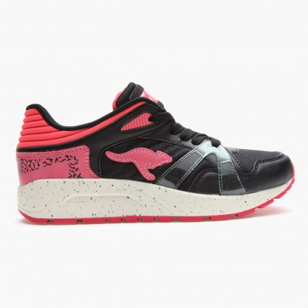 Kangaroos Printed Lace-up Sneakers