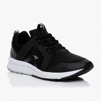 7f2cb8bbf KangaROOS Lace-Up Shoes | Black | Sneakers