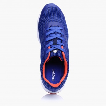Kappa Textured Lace-Up Shoes