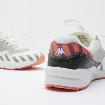 Kappa Running Shoes with Lace-Up Closure