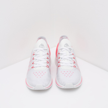 Kappa Printed Running Shoes with Lace-Up Closure