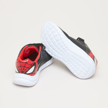 Spider-Man Sneakers with Hook and Loop Closure