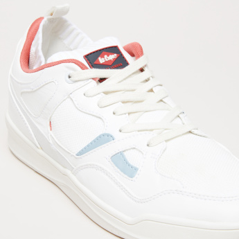 Lee Cooper Textured Shoes with Lace Closure