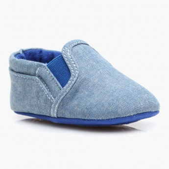 Juniors Denim Booties
