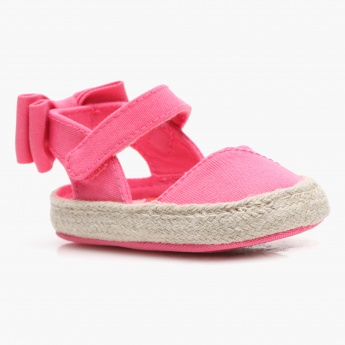 Juniors Velcro Strap Booties