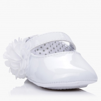 Juniors Bow Applique Mary Jane Shoes