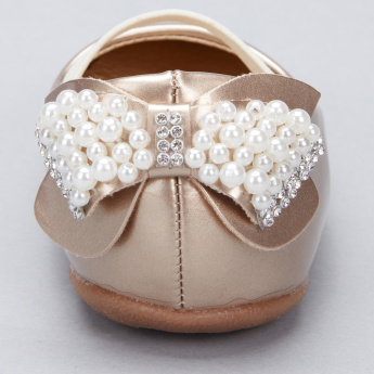 Juniors Embellished Mary Jane Booties