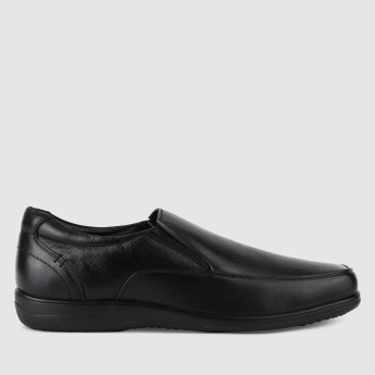 Duchini Stitch Detail Slip-On Shoes with Elasticised Gussets