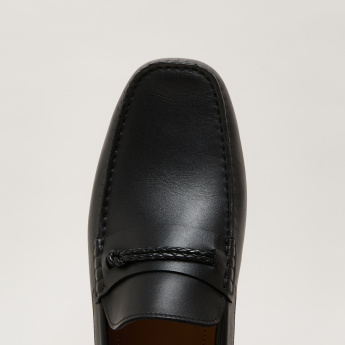Slip-On Loafers with Braid Detail