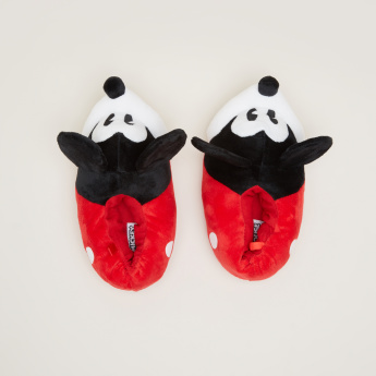 Mickey Mouse Applique Indoor Slides