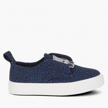Juniors Embroidered Slip-On Shoes