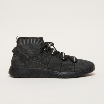 d53dbc6046 Kappa Textured High Top Shoes