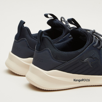 KangaROOS Textured Lace-Up Walking Shoes
