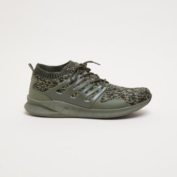 e297c0d96343 KangaROOS Knitted Lace-Up Walking Shoes
