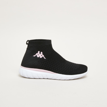 Kappa Slip-On High Top Shoes