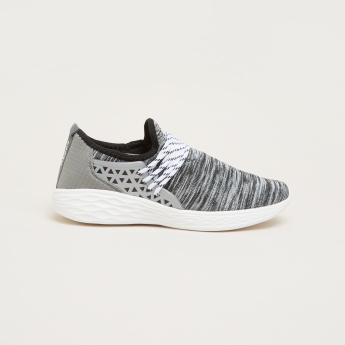 Kappa Textured Sneakers with Laces