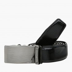 Elle Belt with Plate Buckle Closure